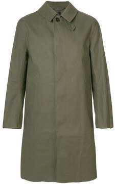 MACKINTOSH straight-fit buttoned coat