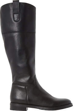 Dune Ladies Black Classic Timi Leather Riding Boots