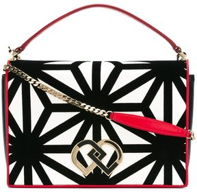 Dsquared2 large 'DD' shoulder bag