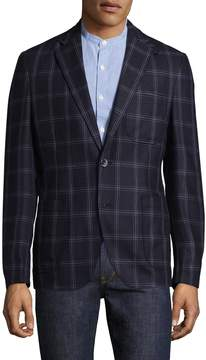 Kroon Men's Unlined Plaid Jacket