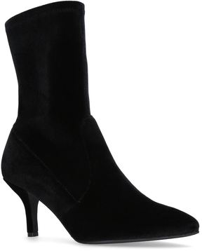 Stuart Weitzman Suede Cling Sock Boots 65