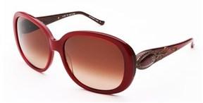 Judith Leiber Women's Radiance Sunglasses Ruby/horn.
