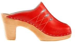 Cape Clogs Women's Chanel Red Clog.