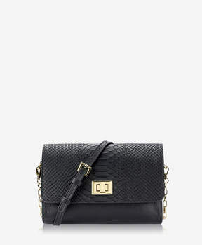 GiGi New York Catherine Crossbody Embossed Python