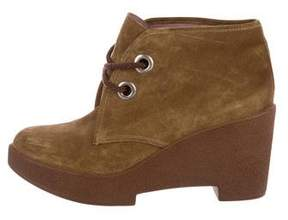 Robert Clergerie Suede Platform Chukka Boots