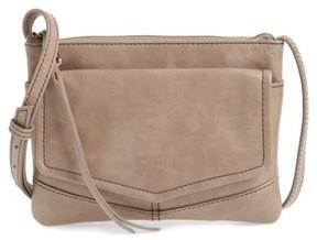 Hobo Amble Leather Crossbody Bag - Grey
