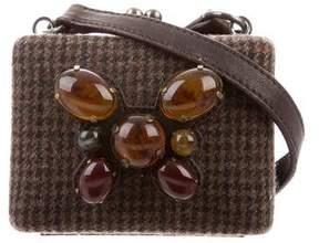 Miu Miu Embellished Mini Kiss-Lock Bag