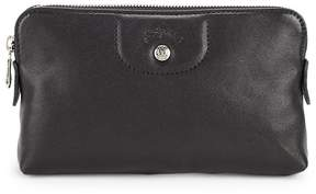Longchamp Women's Leather Clutch - PINK - STYLE