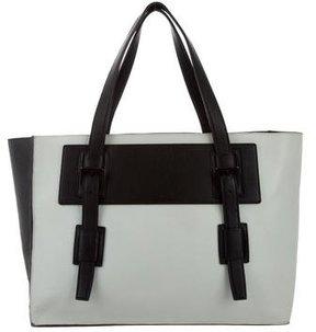 Narciso Rodriguez Bicolor Leather Tote