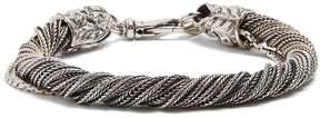 Emanuele Bicocchi Twisted sterling-silver bracelet