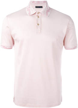 Etro contrasting collar polo shirt