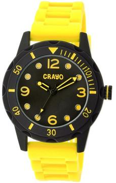 Crayo Splash Collection CRACR2205 Unisex Watch with Silicone Strap