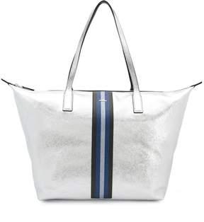 Hogan striped wide tote bag