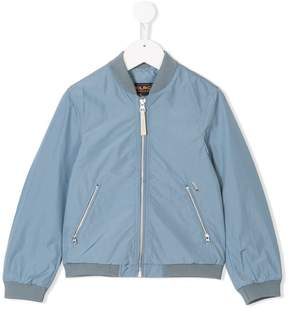 Woolrich Kids zipped bomber jacket