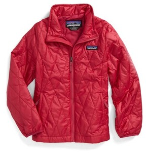 Patagonia Toddler Girl's Nano Puff Quilted Water Resistant Jacket