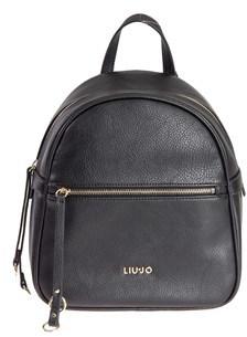 Liu Jo Women's Black Polyester Backpack.