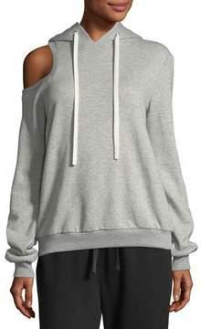 A.L.C. Dresden Hooded Cotton Sweatshirt