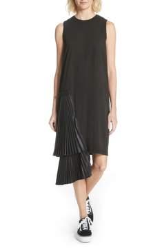 Clu Pleat Side Shift Dress