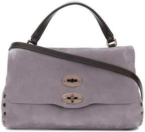 Zanellato stud detailed satchel bag