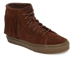 Vans Girl's Sk8-Hi Moc Sneaker
