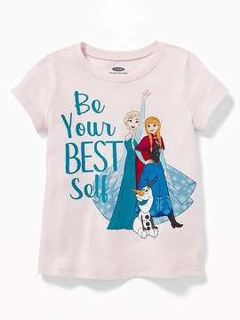 Old Navy Disney© Frozen Be Your Best Self Tee for Toddler Girls