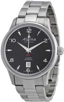 Alpina Alpiner Automatic Black Dial Stainless Steel Men's Watch