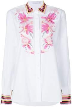 Ermanno Scervino embroidered shirt