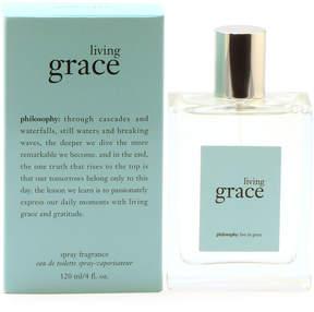 philosophy Living Grace Eau de Toilette Spray, 4 oz./ 118 mL