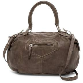 Liebeskind Damba Leather Tumble Wash Shoulder Bag