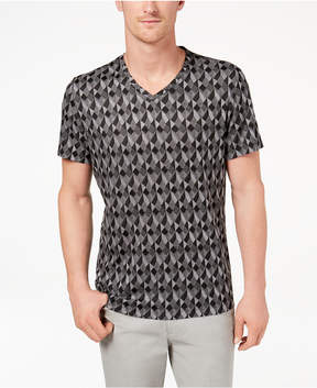 Alfani Men's Exploded Geo-Print T-Shirt, Created for Macy's