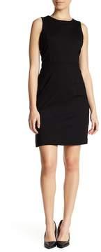 Atelier Luxe Sleeveless Ponte Sheath Dress (Petite)