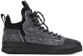 Bruno Bordese lace up hi-tops