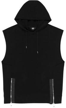 General Idea G7d05051 Sleeveless Hood T Shirt Black