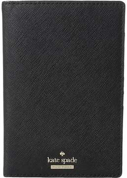 Kate Spade Cameron Street Travel Passport Holder Wallet - BLACK - STYLE