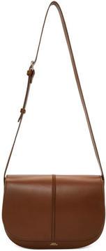 A.P.C. Brown Medium Nelly Bag
