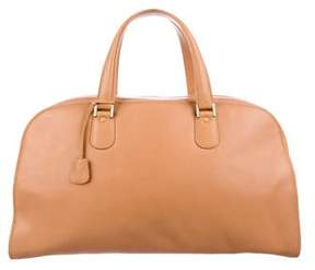 Valextra Leather Handle Bag