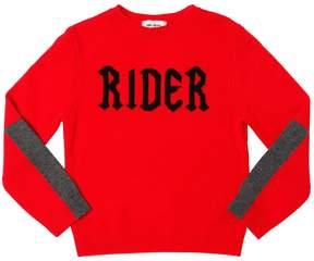 Zadig & Voltaire Rider Intarsia Cotton & Cashmere Sweater