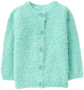Gymboree Dusty Teal Fuzzy Cardigan - Infant & Toddler