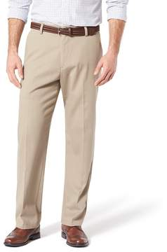 Dockers Men's Stretch Easy Khaki Relaxed-Fit Pleated Pants D4