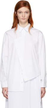 Cédric Charlier White Asymmetric Shirt