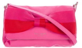 Kate Spade Canvas Bow Crossbody Bag - PINK - STYLE