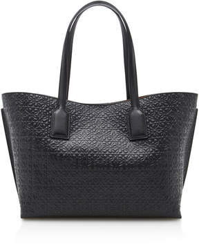 Loewe T Shopper Embossed Leather Tote