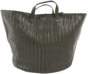 Meli-Melo Khaki Leather Handbag