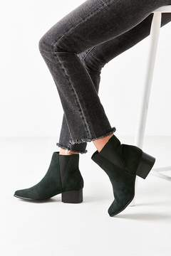 Urban Outfitters Pola Suede Green Chelsea Boot
