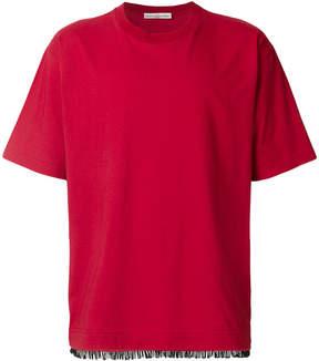 Golden Goose Deluxe Brand fringe hem T-shirt