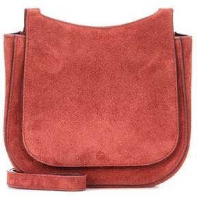 The Row Hunting 7 suede shoulder bag