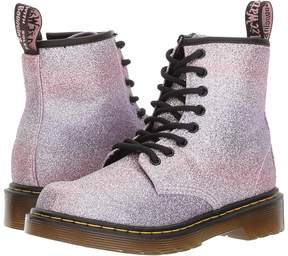 Dr. Martens Kid's Collection 1460 Glitter Junior Delaney Boot Girls Shoes