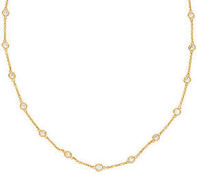 Elizabeth Taylor As Is The 18 Simulated Diamond Chain