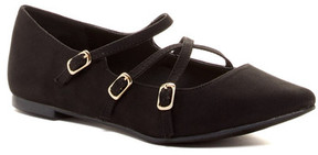 Restricted Alison Pointed Toe Flat