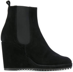 Castaner fitted wedge boots